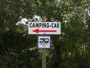 aire lavage camping car au camping de Keremma