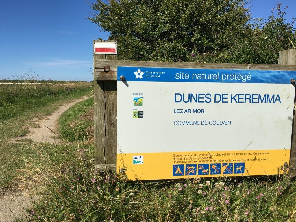 dune de Keremma site protégé